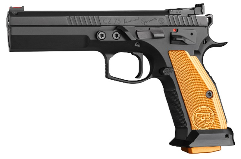 CZ 75 TACTICAL SPORTS ORANGE IPSC, 9 MM DEMOEX
